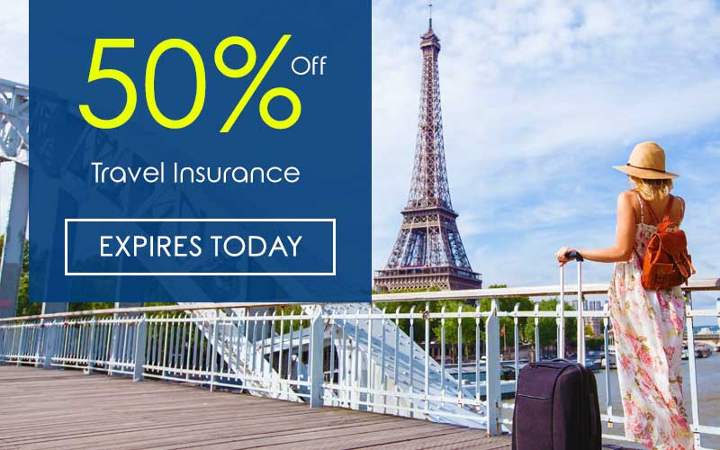 Leger Holidays Insurance - Save 50%!