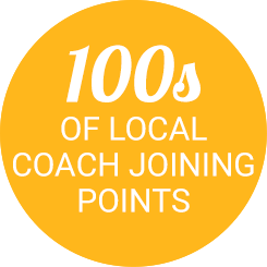 100s of local joining points