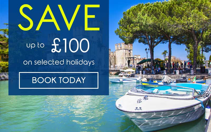 SAVE up to £200 on selected holidays