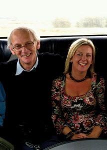 Joe and Caroline on their single traveller holiday