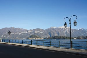 Afternoon view over to beautiful Bellagio