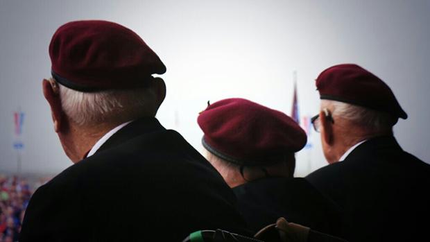 Veterans at Arnhem70 in 2014
