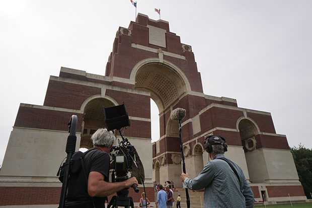 filming-at-thiepval