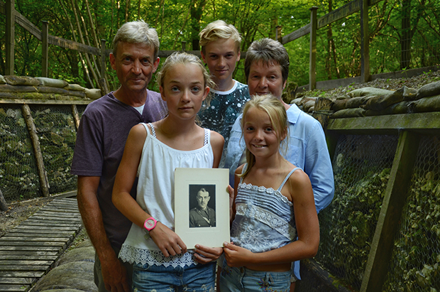 the-stockdale-family-at-thiepval