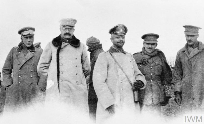 THE CHRISTMAS TRUCE ON THE WESTERN FRONT