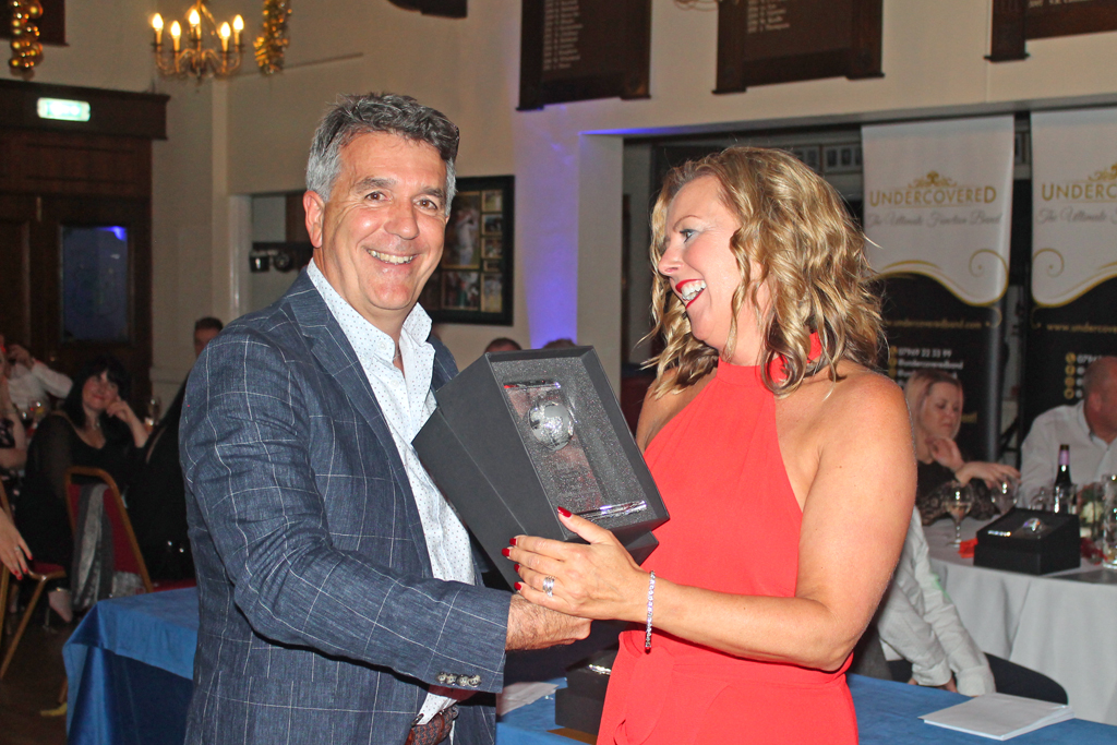 Employee of the Year 2nd place - Caroline Thorpe