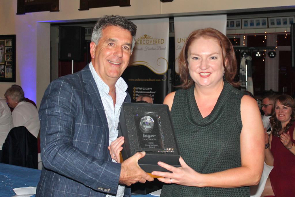 Long Service Award - Susan Porter