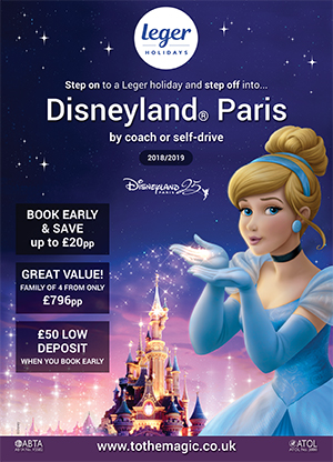 Disneyland Paris 18–19 brochure