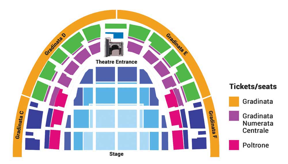 Verona Opera Seating Plan